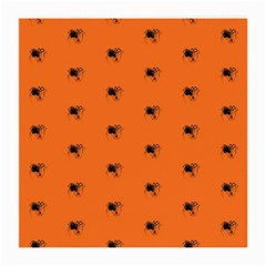 Funny Halloween   Spider Pattern Medium Glasses Cloth (2-Side)