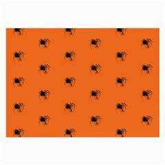 Funny Halloween   Spider Pattern Large Glasses Cloth
