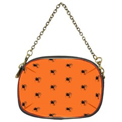 Funny Halloween   Spider Pattern Chain Purses (One Side)
