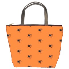 Funny Halloween   Spider Pattern Bucket Bags