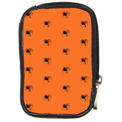 Funny Halloween   Spider Pattern Compact Camera Cases