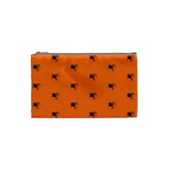 Funny Halloween   Spider Pattern Cosmetic Bag (Small)