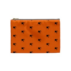 Funny Halloween   Spider Pattern Cosmetic Bag (Medium)
