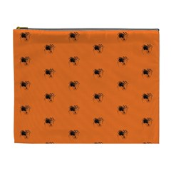 Funny Halloween   Spider Pattern Cosmetic Bag (XL)
