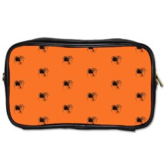 Funny Halloween   Spider Pattern Toiletries Bags 2-Side