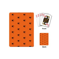 Funny Halloween   Spider Pattern Playing Cards (Mini)