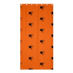 Funny Halloween   Spider Pattern Shower Curtain 36  x 72  (Stall)
