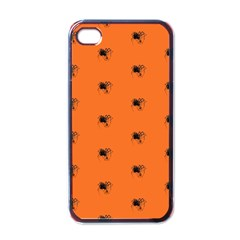 Funny Halloween   Spider Pattern Apple iPhone 4 Case (Black)