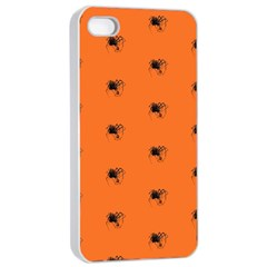 Funny Halloween   Spider Pattern Apple iPhone 4/4s Seamless Case (White)