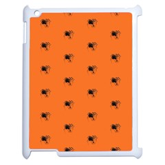 Funny Halloween   Spider Pattern Apple iPad 2 Case (White)