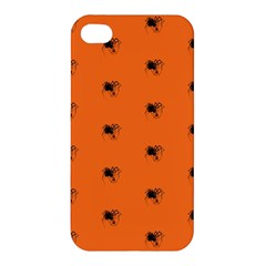 Funny Halloween   Spider Pattern Apple iPhone 4/4S Hardshell Case