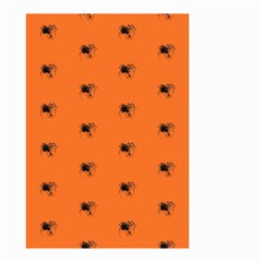 Funny Halloween   Spider Pattern Small Garden Flag (Two Sides)