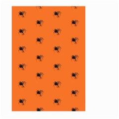 Funny Halloween   Spider Pattern Large Garden Flag (Two Sides)
