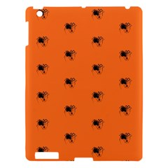 Funny Halloween   Spider Pattern Apple Ipad 3/4 Hardshell Case by MoreColorsinLife