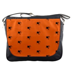 Funny Halloween   Spider Pattern Messenger Bags