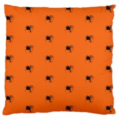 Funny Halloween   Spider Pattern Large Cushion Case (One Side)