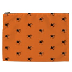 Funny Halloween   Spider Pattern Cosmetic Bag (XXL)