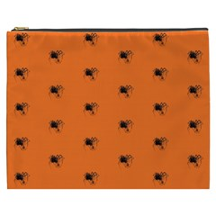 Funny Halloween   Spider Pattern Cosmetic Bag (XXXL)
