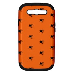 Funny Halloween   Spider Pattern Samsung Galaxy S III Hardshell Case (PC+Silicone)