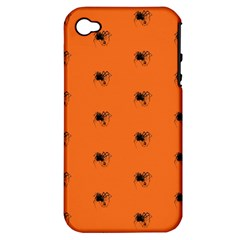 Funny Halloween   Spider Pattern Apple iPhone 4/4S Hardshell Case (PC+Silicone)