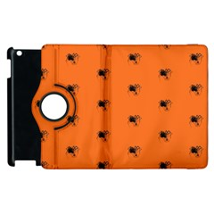 Funny Halloween   Spider Pattern Apple Ipad 2 Flip 360 Case by MoreColorsinLife