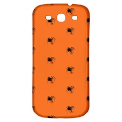 Funny Halloween   Spider Pattern Samsung Galaxy S3 S III Classic Hardshell Back Case