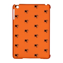 Funny Halloween   Spider Pattern Apple iPad Mini Hardshell Case (Compatible with Smart Cover)