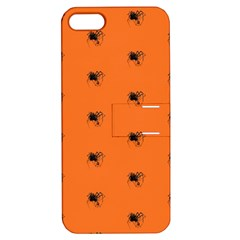 Funny Halloween   Spider Pattern Apple iPhone 5 Hardshell Case with Stand