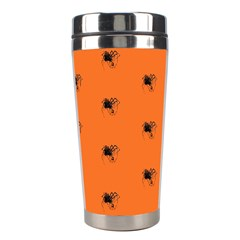 Funny Halloween   Spider Pattern Stainless Steel Travel Tumblers
