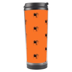 Funny Halloween   Spider Pattern Travel Tumbler