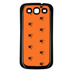 Funny Halloween   Spider Pattern Samsung Galaxy S3 Back Case (Black)