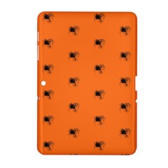 Funny Halloween   Spider Pattern Samsung Galaxy Tab 2 (10.1 ) P5100 Hardshell Case