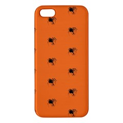 Funny Halloween   Spider Pattern iPhone 5S/ SE Premium Hardshell Case
