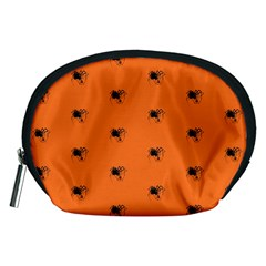 Funny Halloween   Spider Pattern Accessory Pouches (Medium)