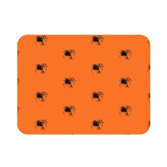Funny Halloween   Spider Pattern Double Sided Flano Blanket (Mini)