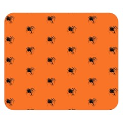 Funny Halloween   Spider Pattern Double Sided Flano Blanket (Small)