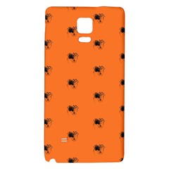 Funny Halloween   Spider Pattern Galaxy Note 4 Back Case