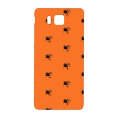 Funny Halloween   Spider Pattern Samsung Galaxy Alpha Hardshell Back Case