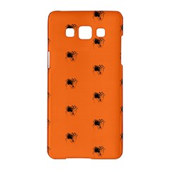 Funny Halloween   Spider Pattern Samsung Galaxy A5 Hardshell Case