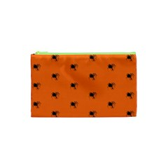 Funny Halloween   Spider Pattern Cosmetic Bag (XS)