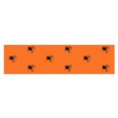 Funny Halloween   Spider Pattern Satin Scarf (Oblong)