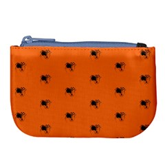 Funny Halloween   Spider Pattern Large Coin Purse
