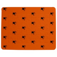 Funny Halloween   Spider Pattern Jigsaw Puzzle Photo Stand (Rectangular)