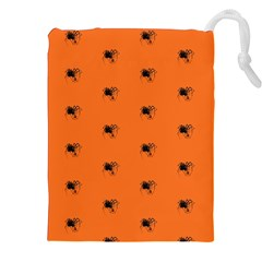 Funny Halloween   Spider Pattern Drawstring Pouches (xxl) by MoreColorsinLife