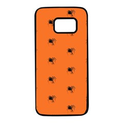 Funny Halloween   Spider Pattern Samsung Galaxy S7 Black Seamless Case by MoreColorsinLife