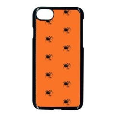 Funny Halloween   Spider Pattern Apple iPhone 7 Seamless Case (Black)