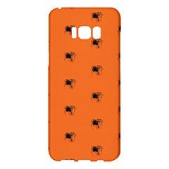 Funny Halloween   Spider Pattern Samsung Galaxy S8 Plus Hardshell Case