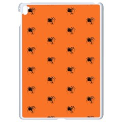 Funny Halloween   Spider Pattern Apple iPad Pro 9.7   White Seamless Case