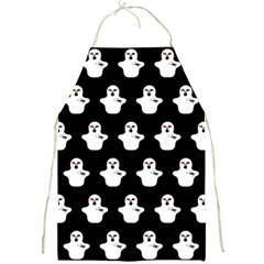 Funny Halloween   Ghost Pattern Full Print Aprons by MoreColorsinLife