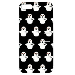 Funny Halloween   Ghost Pattern Apple Iphone 5 Hardshell Case With Stand by MoreColorsinLife